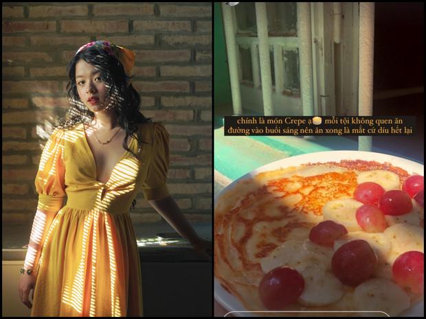 Đại chiến yêu bếp của dàn gái đẹp ngày đầu Hà Nội giãn cách, ai cũng okela quá cơ - Ảnh 9.