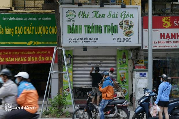 Quán ăn Hà Nội đồng loạt đóng cửa sau chỉ thị 16: Chung tay chống dịch chứ càng bán càng lỗ - Ảnh 4.