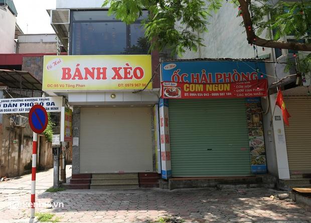 Quán ăn Hà Nội đồng loạt đóng cửa sau chỉ thị 16: Chung tay chống dịch chứ càng bán càng lỗ - Ảnh 3.