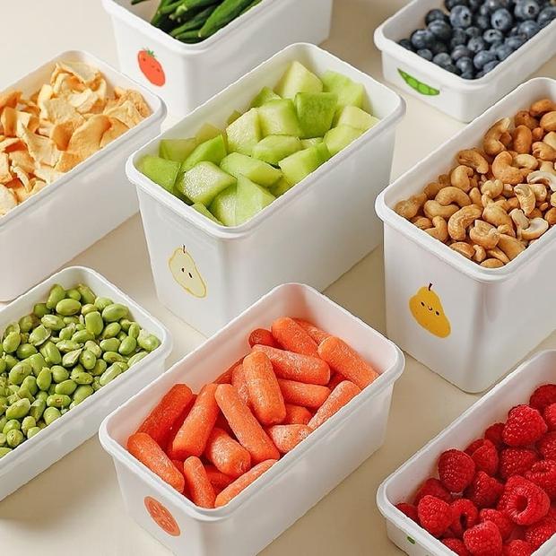 Tuyển tập hộp đựng thực phẩm tiện - đẹp - rẻ chị em nội trợ sẽ muốn mua theo lố để dùng dần  - Ảnh 15.