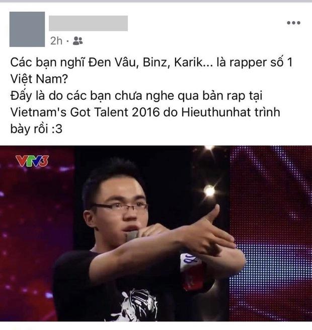 Tìm đâu xa, có một anh chàng từng gây sốt trên truyền hình vì khẳng định khả năng viết rap số 1 Việt Nam! - Ảnh 1.