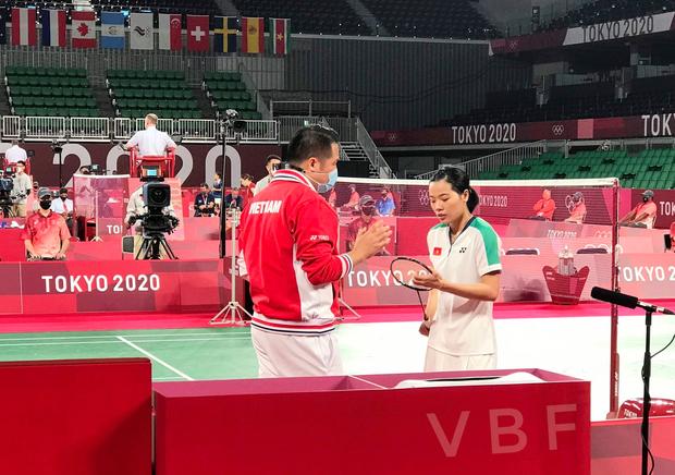 Hot girl cầu lông Việt Nam đánh bại đối thủ Pháp, có khởi đầu như mơ tại Olympic Tokyo 2020 - Ảnh 2.