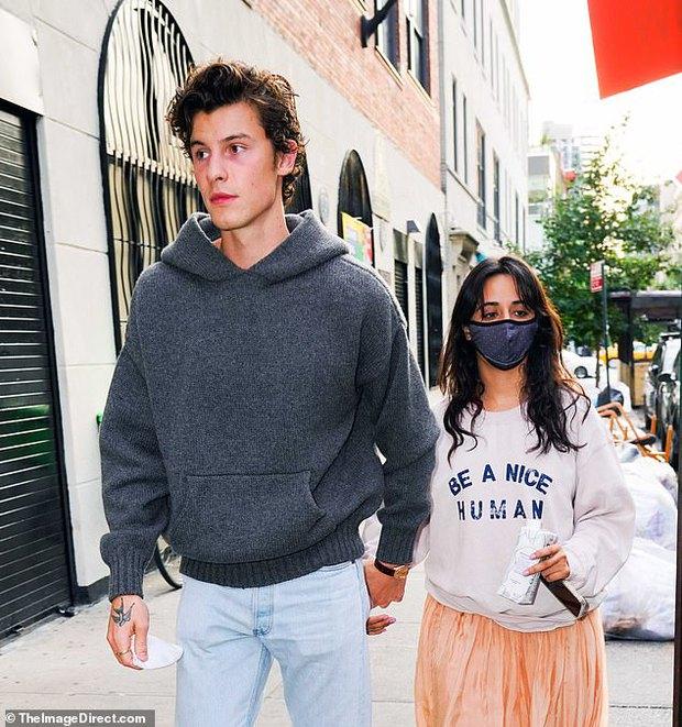 Tranh cãi Shawn và Camila dạo phố: Chàng cực soái, nàng mặc cái gì mà dìm dáng lùn tịt, luộm thuộm như đi chợ thế này? - Ảnh 2.