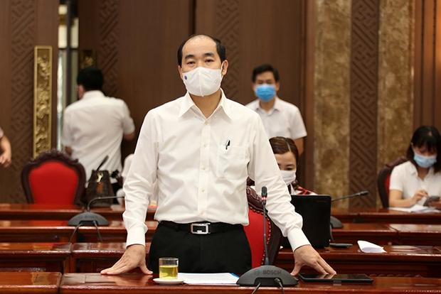 Hà Nội dự báo số ca nhiễm diễn biến tăng và các kịch bản ứng phó tới 50.000 giường bệnh - Ảnh 1.