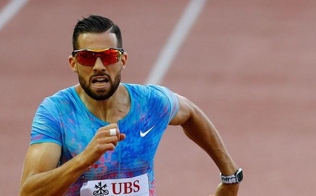 VĐV 400m vượt rào Thụy Sĩ bị loại khỏi Olympic vì doping - Ảnh 1.