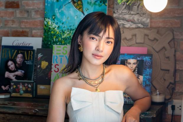 Giữa lúc Binz bị gọi tên có phải rapper số 1 Việt Nam hay không? - Châu Bùi vẫn đu trend vũ điệu chặt thịt cực chất trên TikTok - Ảnh 1.