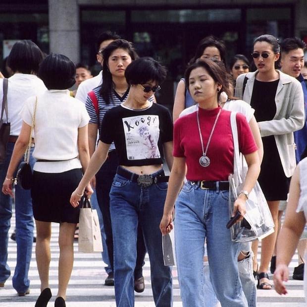 Giới trẻ Hàn - Nhật ngày xưa mặc gì? Có xịn như bây giờ không? - Ảnh 4.