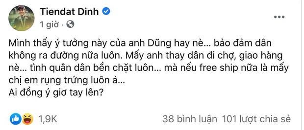 """Đạo diễn Quang Dũng bị chỉ trích dữ dội vì đề xuất CSGT làm shipper mùa dịch, loạt sao Việt hưởng ứng cũng nhận """"gạch đá"""" - Ảnh 4."""