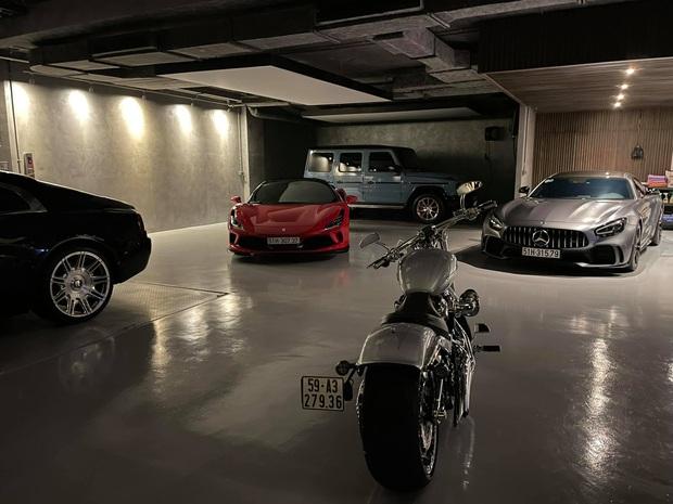Cường Đô La có 1 chiếc garage siêu xế cực khủng cả chục tỷ, ai ngờ giờ biến thành khu... mua vui cho ái nữ Suchin - Ảnh 5.