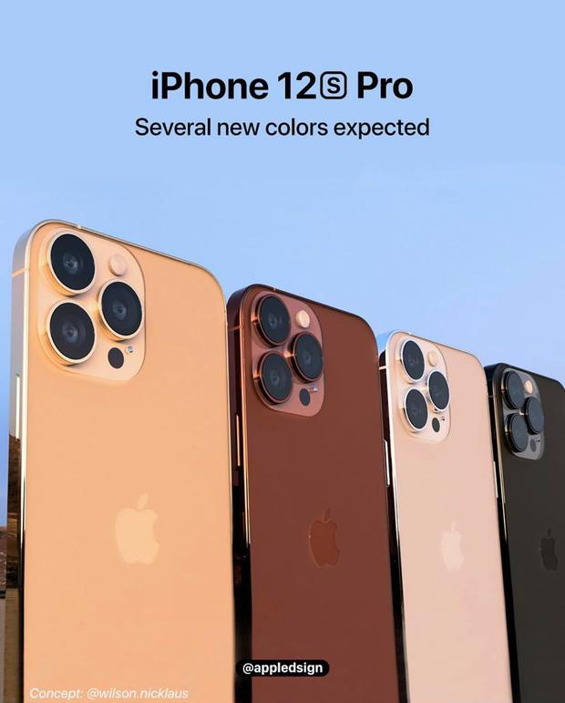 Rò rỉ concept iPhone 13 màu vàng hồng đẹp mãn nhãn - Ảnh 2.