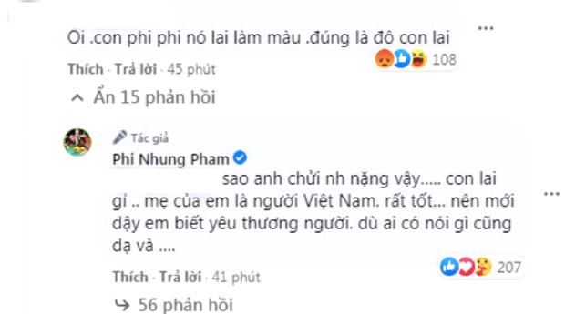 Tự hào khoe được con gái ở Mỹ gửi tiền về làm từ thiện, Phi Nhung bị antifan miệt thị là con lai liền đáp trả căng luôn! - Ảnh 4.