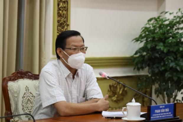 Phó Bí thư Thường trực Phan Văn Mãi: TP.HCM sẽ giới hạn thời gian người dân được ra đường - Ảnh 1.