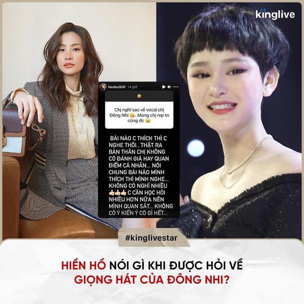 Netizen mỉa mai câu trả lời lòng vòng của Hiền Hồ khi được hỏi về giọng hát Đông Nhi: Muốn chê thì nói đại một tiếng - Ảnh 2.