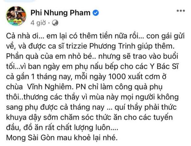 Tự hào khoe được con gái ở Mỹ gửi tiền về làm từ thiện, Phi Nhung bị antifan miệt thị là con lai liền đáp trả căng luôn! - Ảnh 2.