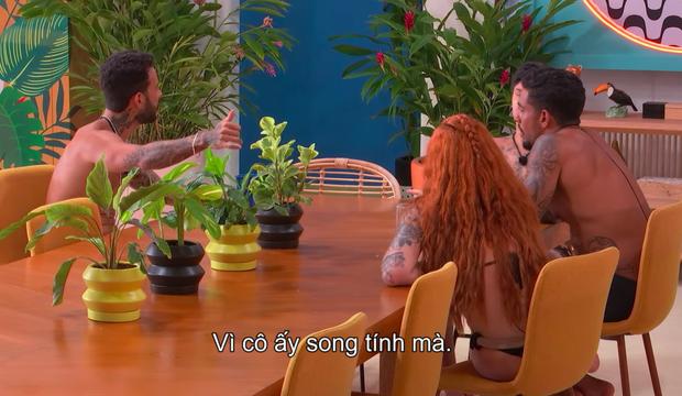 Xuất hiện gái xinh song tính tại Too Hot To Handle Brazil, nụ hôn đồng giới khiến khán giả sốc tận óc! - Ảnh 3.
