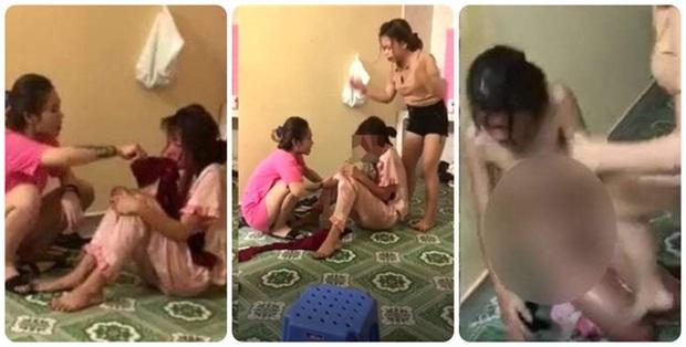 Tạm giam 2 đối tượng lột quần áo, hành hạ cô gái trẻ như thời trung cổ ở Thái Bình - Ảnh 1.