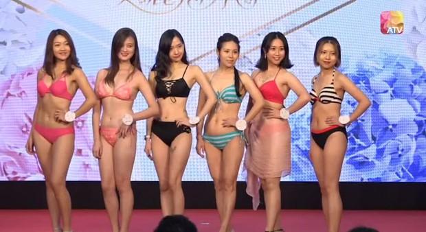 """Choáng toàn tập với dàn thí sinh Hoa hậu châu Á: Lộ bụng mỡ bèo nhèo, tạo dáng """"khó đỡ"""" trước ban giám khảo - Ảnh 23."""