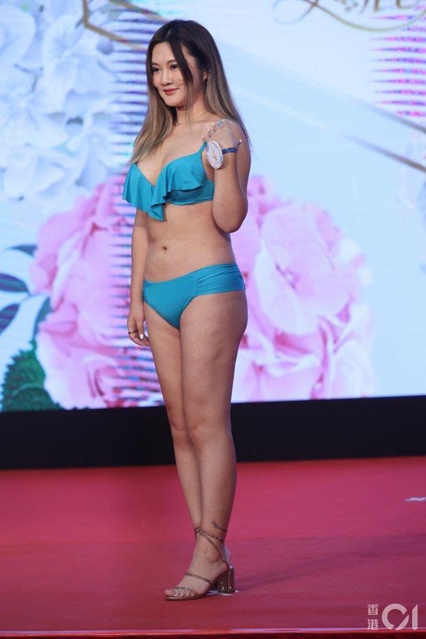 """Choáng toàn tập với dàn thí sinh Hoa hậu châu Á: Lộ bụng mỡ bèo nhèo, tạo dáng """"khó đỡ"""" trước ban giám khảo - Ảnh 3."""
