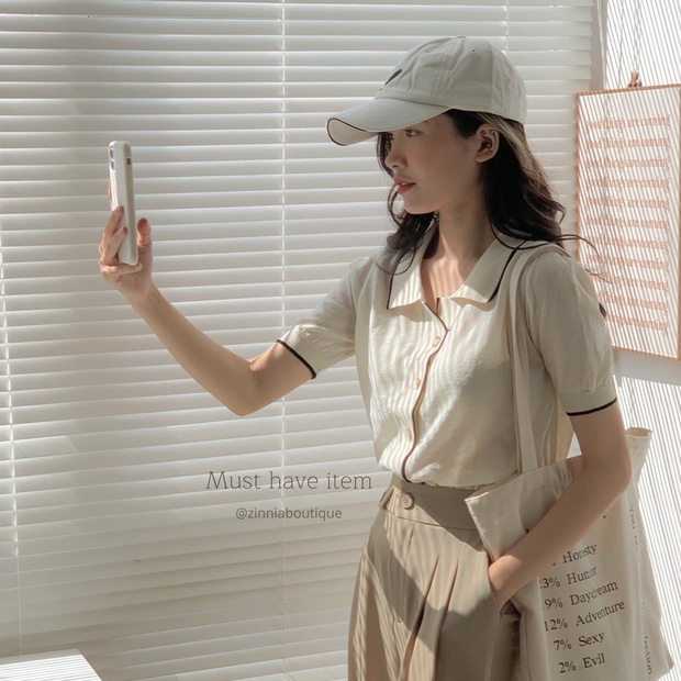 8 shop thời trang rẻ đẹp hot nhất Shopee: Có cả style Hàn xẻng lẫn cool girl, vào xem nhất định chốt vài món  - Ảnh 6.