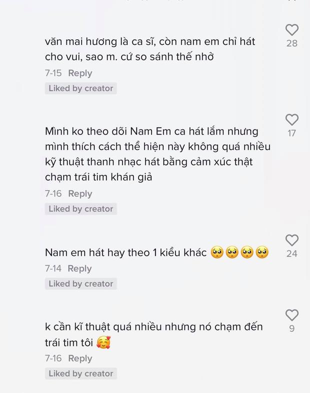 Nam Em cover Như Mùa Tuyết Đầu Tiên, cộng đồng mạng đồng loạt cảm thán: Ngang ngửa Văn Mai Hương - Ảnh 6.