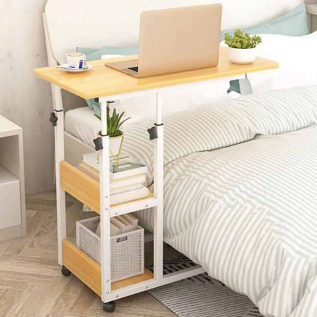 5 chiếc bàn siêu gọn cho phòng chật: Vừa đẹp vừa dễ tháo lắp, mua về để work from home là số dzách - Ảnh 3.