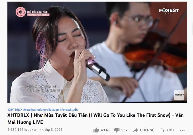 Nam Em cover Như Mùa Tuyết Đầu Tiên, cộng đồng mạng đồng loạt cảm thán: Ngang ngửa Văn Mai Hương - Ảnh 4.