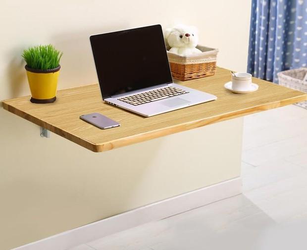 5 chiếc bàn siêu gọn cho phòng chật: Vừa đẹp vừa dễ tháo lắp, mua về để work from home là số dzách - Ảnh 1.