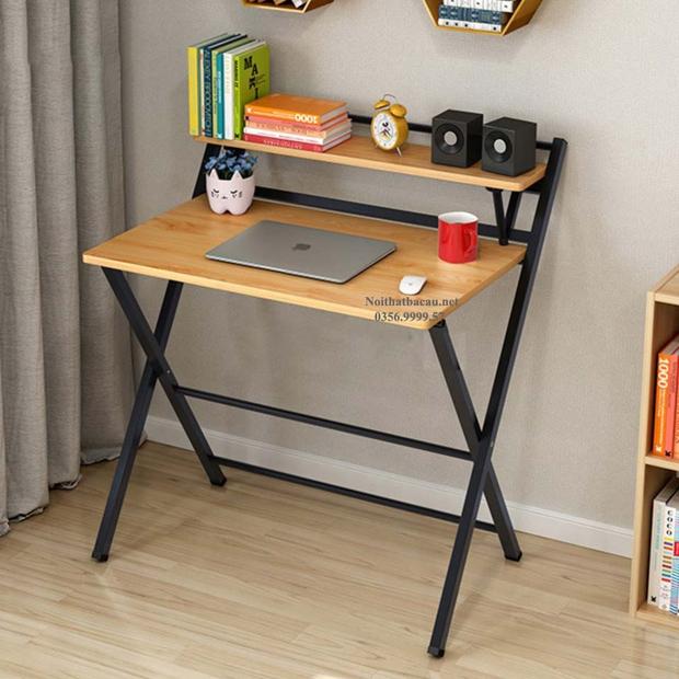 5 chiếc bàn siêu gọn cho phòng chật: Vừa đẹp vừa dễ tháo lắp, mua về để work from home là số dzách - Ảnh 7.