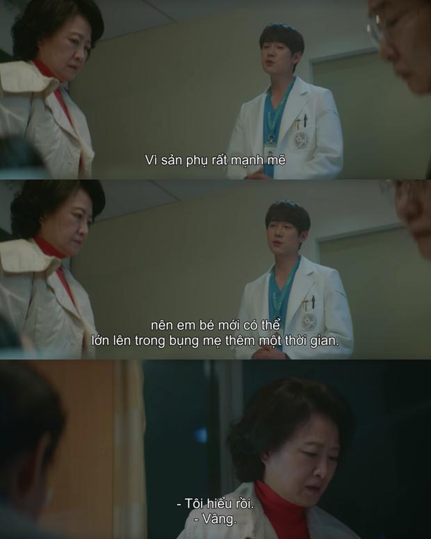 Hospital Playlist 2 lại có bà mẹ chồng siêu cay nghiệt khiến sản phụ suy sụp, nhưng bác sĩ Jung Won nói 1 câu là câm nín! - Ảnh 5.