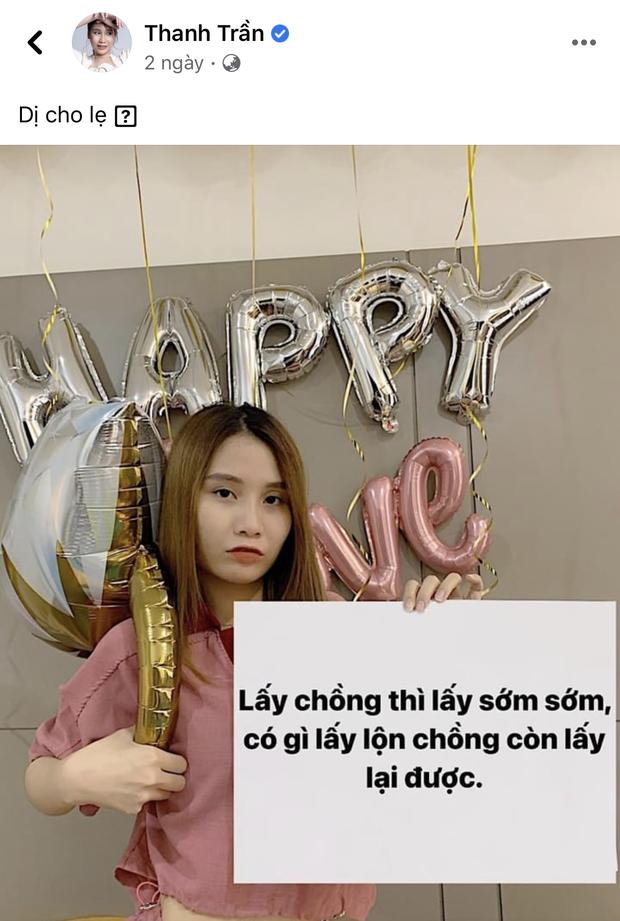 Thanh Trần úp mở chuyện lấy lộn chồng, Khánh Đặng up story anh iu với trai lạ: Có biến thật sự? - Ảnh 4.
