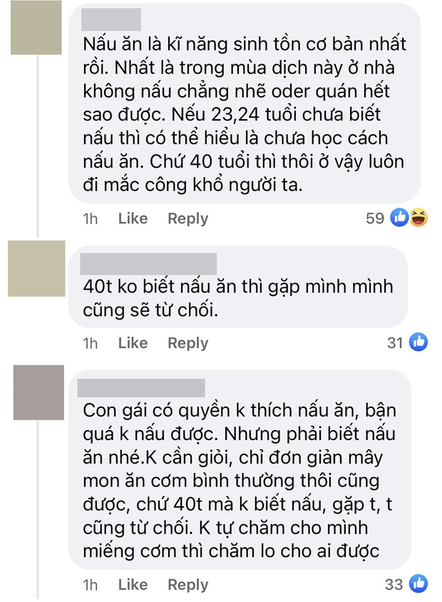 Netizen tranh cãi chuyện người phụ nữ U40 bị từ chối vì không biết nấu ăn: Hari Won cũng bị lôi vào cuộc! - Ảnh 3.