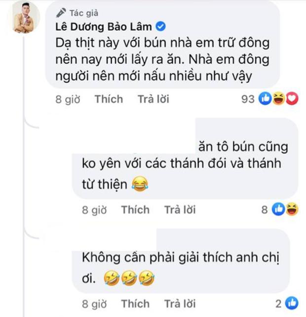 Lê Dương Bảo Lâm bị chỉ trích vì tụ tập đông người ăn bún bò mùa dịch, lời giải thích nghe có hợp lý? - Ảnh 5.