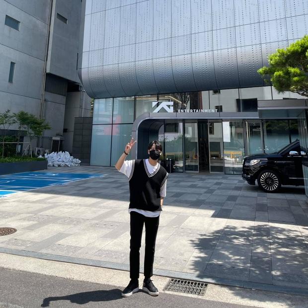 Chàng rể quốc dân từng bị tố nói dối ở show hẹn hò đang thực tập tại Hàn Quốc để làm ca sĩ - Ảnh 9.