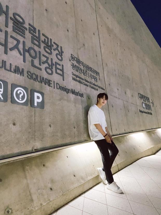 Chàng rể quốc dân từng bị tố nói dối ở show hẹn hò đang thực tập tại Hàn Quốc để làm ca sĩ - Ảnh 8.