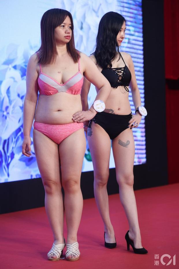 """Choáng toàn tập với dàn thí sinh Hoa hậu châu Á: Lộ bụng mỡ bèo nhèo, tạo dáng """"khó đỡ"""" trước ban giám khảo - Ảnh 16."""