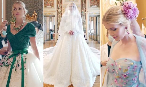 Cháu gái công nương Diana đặt tới 4 bộ váy cưới kinh diễm của D&G, netizen Việt liền có ngay phản ứng trái chiều - Ảnh 6.