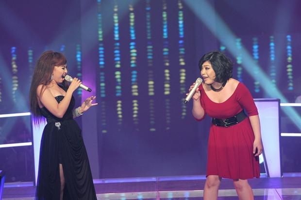 Giọng Hát Việt từng có màn hát như... quát vào mặt nhau, 2 cô gái mạnh ai nấy la! - Ảnh 4.