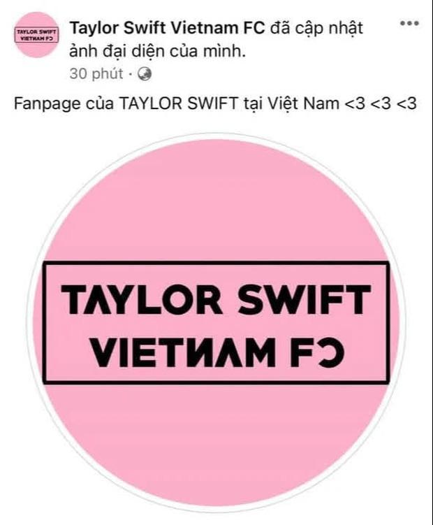 1 loạt fanpage của Taylor Swift, Lady Gaga và sao US-UK tại Việt Nam đổi avatar đen hồng như trúng lời nguyền BLACKPINK, chuyện gì đây? - Ảnh 3.