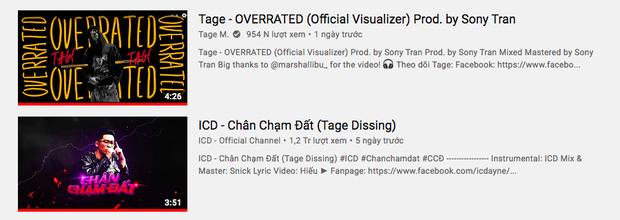 Thắng thế ICD ở top trending, Tage cà khịa đang đứng trên đầu Quán quân King Of Rap, netizen chia 2 phe rõ rệt - Ảnh 2.