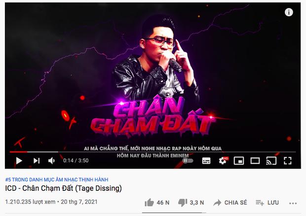 Thắng thế ICD ở top trending, Tage cà khịa đang đứng trên đầu Quán quân King Of Rap, netizen chia 2 phe rõ rệt - Ảnh 4.