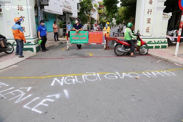 Cận cảnh những chốt bảo vệ vùng xanh ở Sài Gòn: Ngăn dịch bệnh từ bên ngoài xâm nhập vào - Ảnh 8.