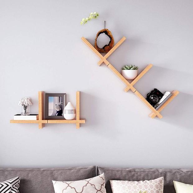 5 loại kệ treo tường cực hợp với nhà chật, toàn kiểu đẹp mắt và thích nhất là cực rẻ - Ảnh 12.