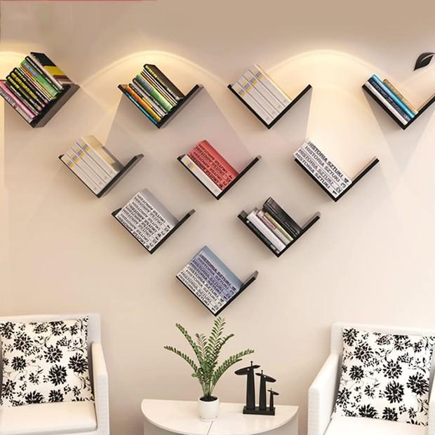 5 loại kệ treo tường cực hợp với nhà chật, toàn kiểu đẹp mắt và thích nhất là cực rẻ - Ảnh 10.