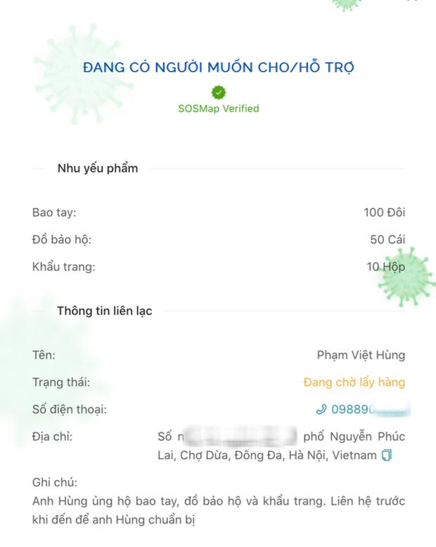 Một ứng dụng Việt giúp kết nối những nhà hảo tâm với người có hoàn cảnh khó khăn giữa mùa dịch - Ảnh 4.