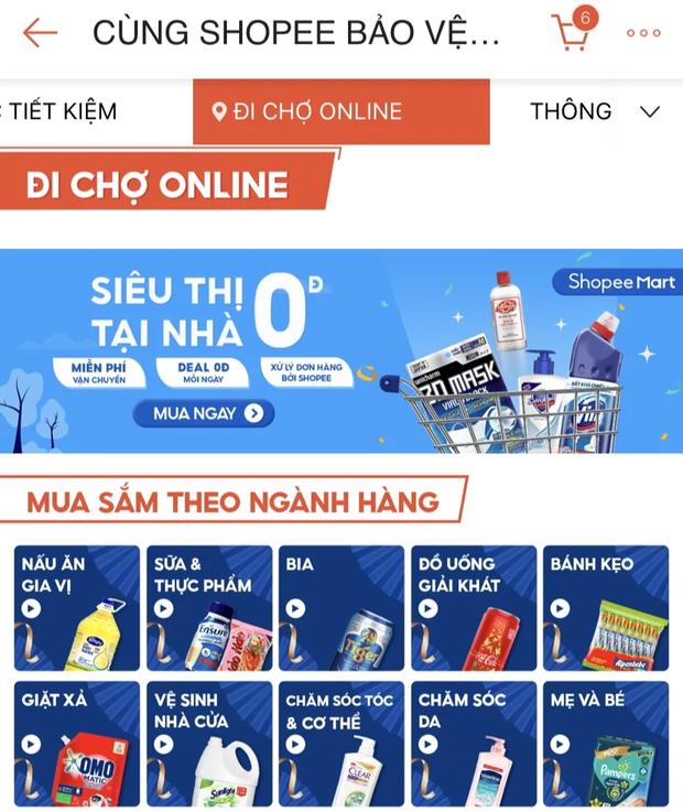 Shopee, Lazada, Tiki và Sendo đã có dịch vụ đi chợ online: Thịt cá, rau củ quả không thiếu gì, ship nhanh lại có mã giảm giá - Ảnh 1.