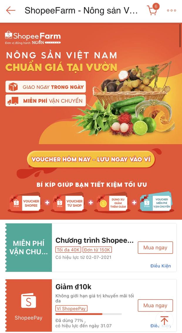Shopee, Lazada, Tiki và Sendo đã có dịch vụ đi chợ online: Thịt cá, rau củ quả không thiếu gì, ship nhanh lại có mã giảm giá - Ảnh 2.