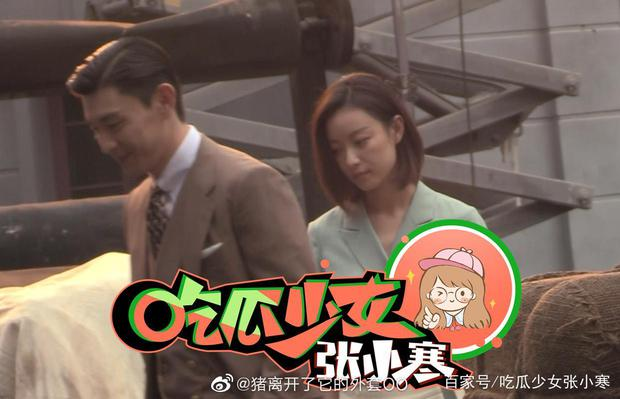 Đặng Luân tóc vuốt ngược nhìn đã thấy đểu, đàn chị Nghê Ni cười tươi như được mùa trong phim mới - Ảnh 6.