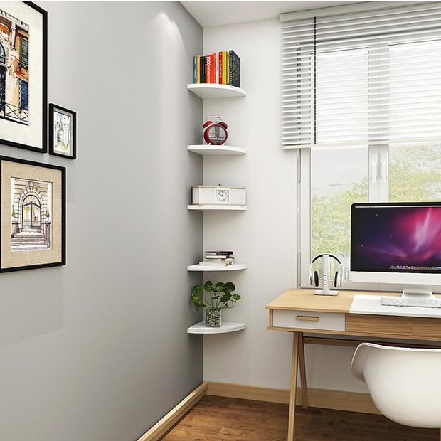 5 loại kệ treo tường cực hợp với nhà chật, toàn kiểu đẹp mắt và thích nhất là cực rẻ - Ảnh 18.