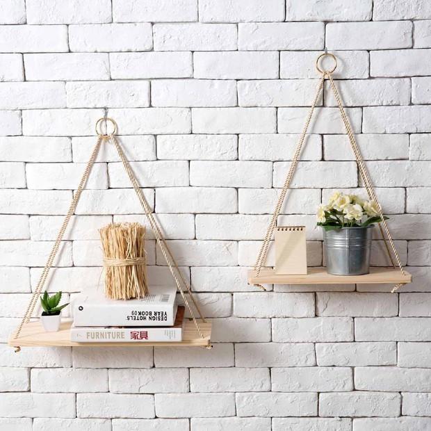 5 loại kệ treo tường cực hợp với nhà chật, toàn kiểu đẹp mắt và thích nhất là cực rẻ - Ảnh 4.