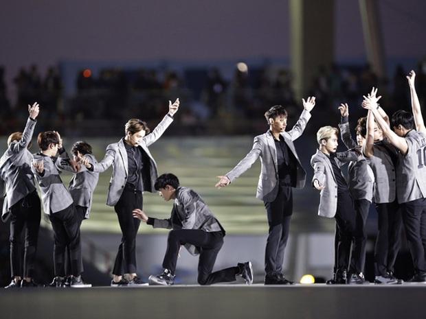 Trước sự nổi tiếng thế giới của BTS, EXO từng là sự lựa chọn của quốc gia, biểu diễn từ Olympic đến Asian Game - Ảnh 6.